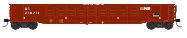 """Trainworx 25213-07   Corrugated 52'6"""" gondola, NS"""