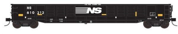 """Trainworx 25213-08   Corrugated 52'6"""" gondola, NS"""