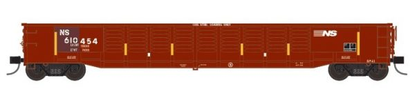 """Trainworx 25213-09   Corrugated 52'6"""" gondola, NS"""
