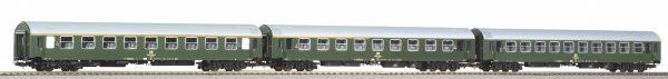 Piko 58220   Set of 3 Y-passenger coaches D 300, DR Set 1