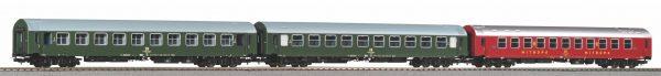 Piko 58221   Set of 3 Y-passenger coaches D 300, DR Set 2