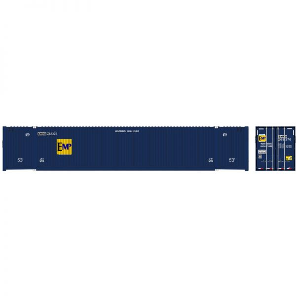 Atlas 20006677   53' CIMC Containers, EMP (3 Pack)