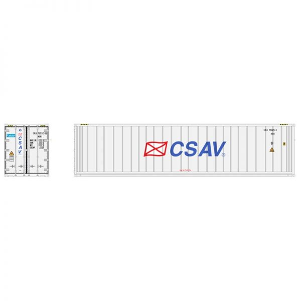 Atlas 20006722   40' Refrigerated Container, CSAV (3 Pack)
