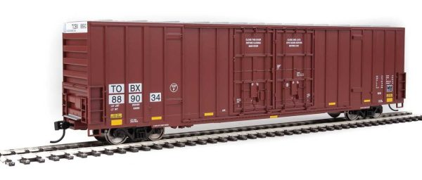 Walthers Mainline 3003   60' High-Cube Plate F Boxcar, TTX TBOX