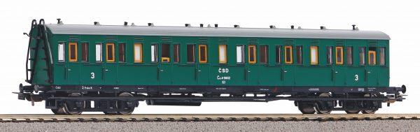 Piko 53318  3rd class compartment car, CSD