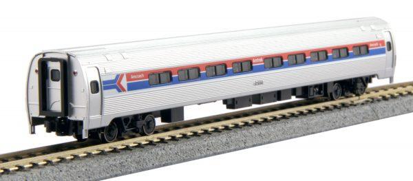 Kato 106-8012   Amfleet I Coach Phase I 2-Car Set A