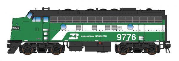 Intermountain Railway 69248-01  EMD F7A Locomotive, BN