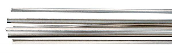 """Walthers Track 83000  HO Code 83 Nickel Silver Rail 36"""" Pkg(17)"""