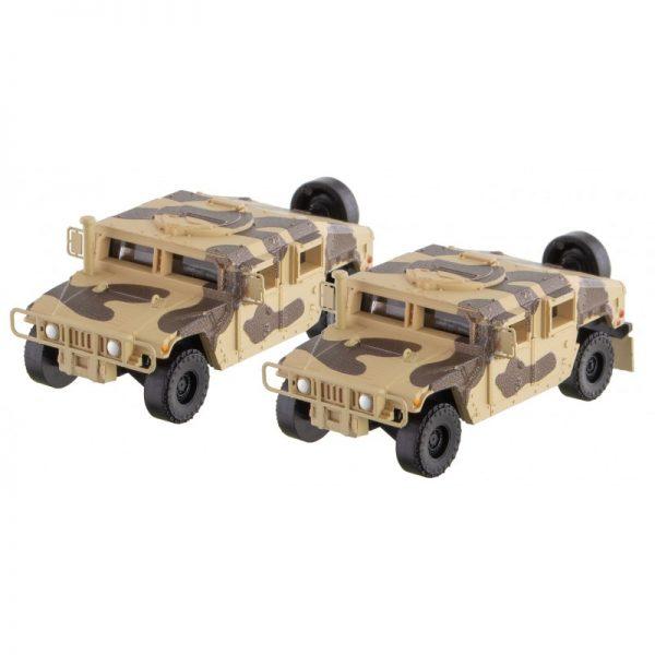 Micro Trains Line 49945953  Desert Camo Humvee 2-Pack