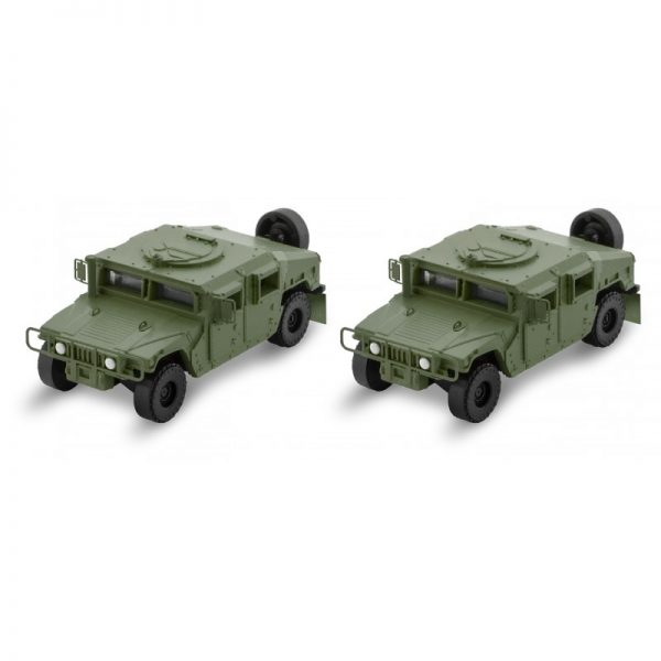 Micro Trains Line 49945952  Olive Drab Humvee 2-Pack