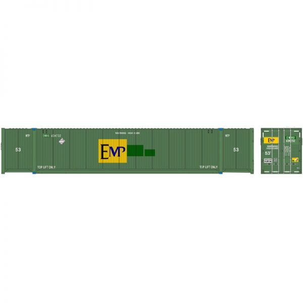 Atlas 50005944   53' CIMC Containers, EMP (3 Pack)