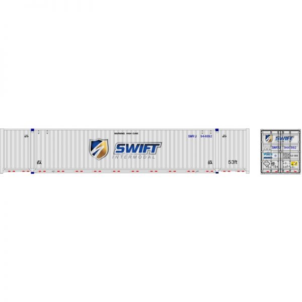 Atlas 50005956   53' Jindo Containers, Swift (3 Pack)