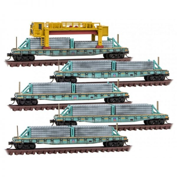 Micro Trains Line  99302170   Union Pacific Weathered Concrete Tie 5-pk