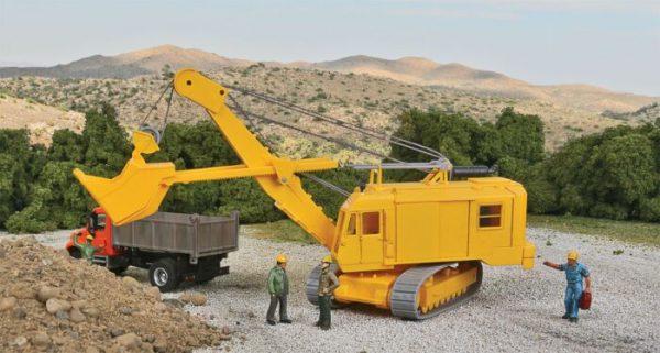 Walthers SceneMaster 11001  Cable Excavator w/Bucket - Kit
