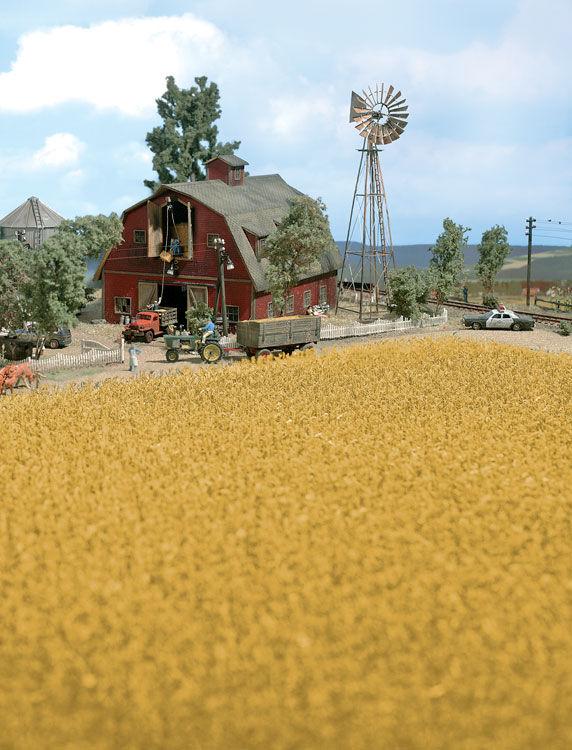 Walthers SceneMaster 1141  Harvest Corn Field - Brown