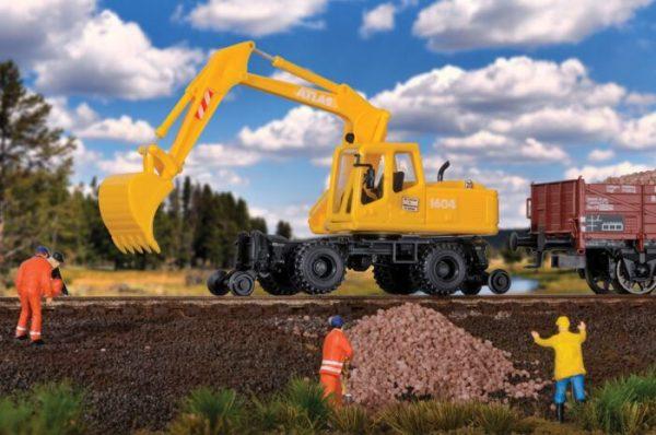 Walthers SceneMaster 11014  Hi-Rail Excavator - Kit