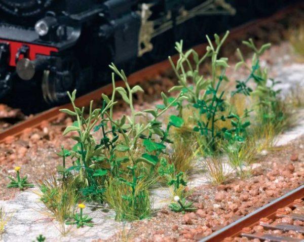 Walthers SceneMaster 1118  Trackside Weeds - Kit