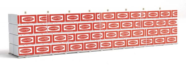 Walthers SceneMaster 3121  Wrapped Lumber Load - Canadian Forest Products