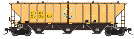 Trainworx 24424-04   PS4427 Covered Hopper, CSX