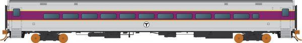 Rapido Trains 528038  Comet: MBTA Boston Coach