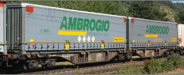 B-Models 59306  Container Cars Sggmrss 90', AMBROGIO