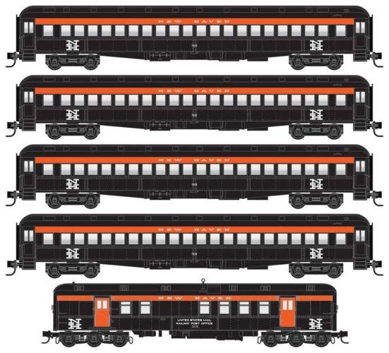 Micro Trains Line 99302110    5- Car Set Heavyweight Coach, New Haven