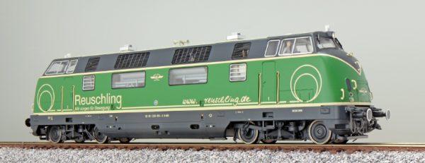 ESU 31082  Diesel Locomotive BR 220, Reuschling (Digital Sound+Smoke, DC/AC)